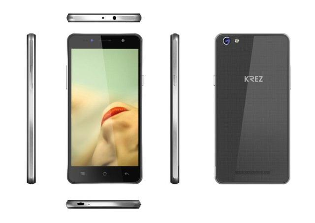 Доступный смартфон KREZ SM503 DUO LTE с поддержкой двух SIM-карт и LTE