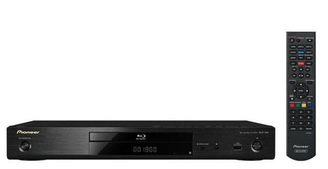 Новый Blu-ray-плеер Pioneer BDP-180 масштабирует видеосигнал до уровня Ultra HD (4K/24p)