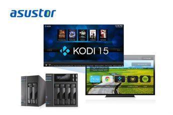 ASUSTOR первой в индустрии обеспечила поддержку Kodi 15