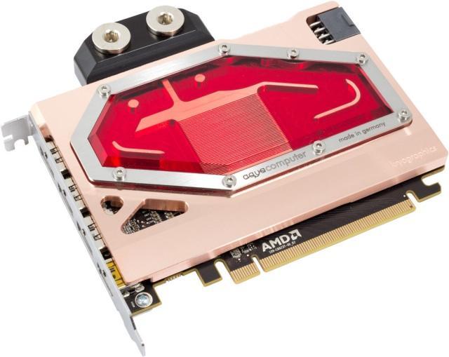 AquaComputer анонсировала водоблок Kryographics Radeon R9 Nano