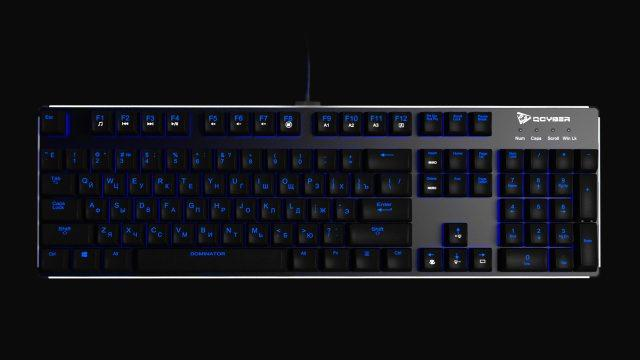 QCYBER DOMINATOR: новое поколение игровых механических клавиатур для самых хардкорных геймеров