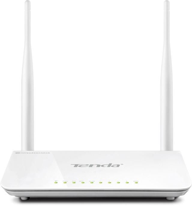 Беспроводной 300 Мбит/с маршрутизатор Tenda F300: быстрый Интернет для дома или офиса