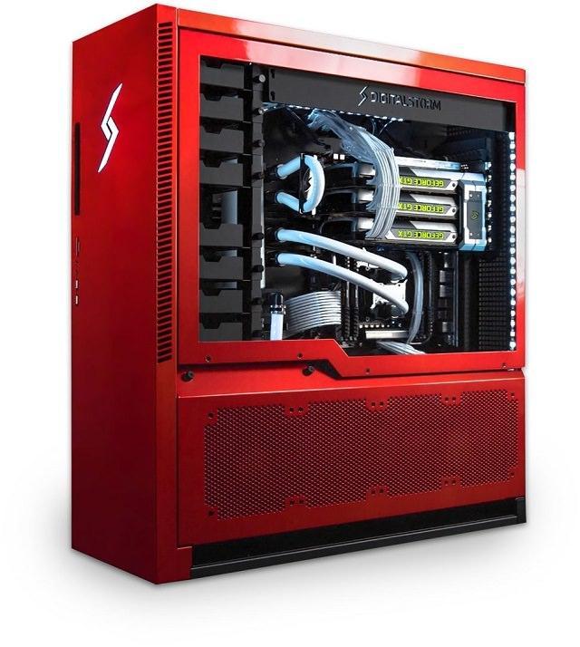 Digital Storm анонсировала игровую систему AVENTUM 3 с разделенными тепловыми отсеками и небольшим отталкивающим фактором
