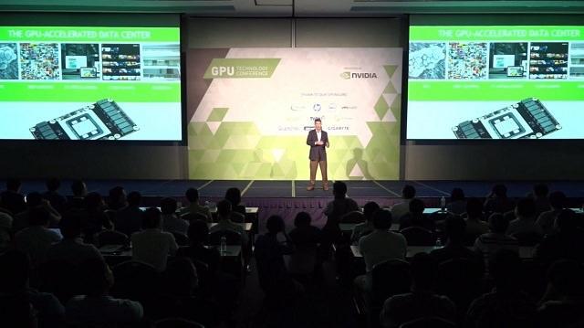 NVIDIA показала в Японии новую архитектуру Pascal с памятью стандарта HBM