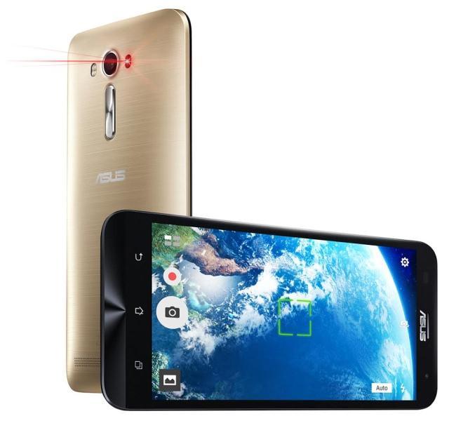 Компания ASUS представляет новый смартфон ASUS ZenFone 2 Laser