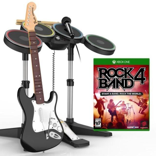 Rock Band 4, признанная лучшей музыкальной игрой 2015 года, скоро выйдет в России