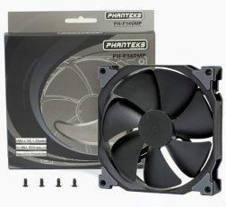 Компания Phanteks представила серии вентиляторов MP и SP в варианте Black Edition