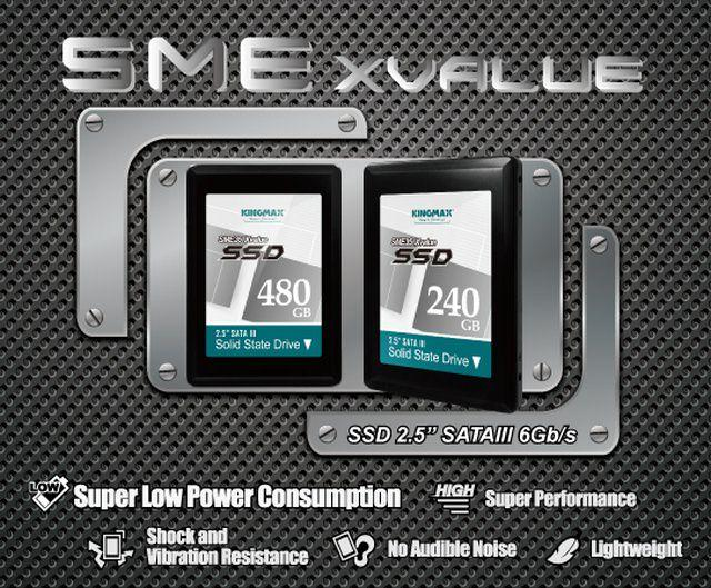 Качественные MLC чипы гарантируют высокую стабильность SSD-накопителей от Kingmax