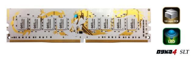 GeIL представляет память DDR4 Dragon RAM в белом цветовом исполнении