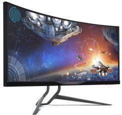 Acer представила изогнутый G-SYNC монитор Predator X34