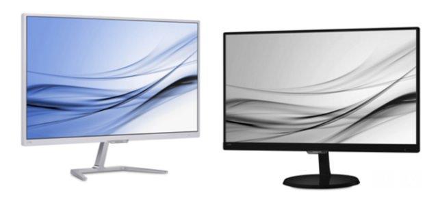 Новые мониторы Philips E-Line. Элегантность в деталях, комфорт в работе