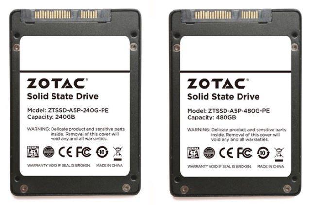 Zotac анонсировала твердотельные накопители серии Premium