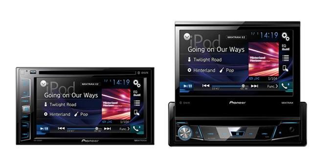 Новое поколение автомобильных мультимедийных AV-ресиверов Pioneer