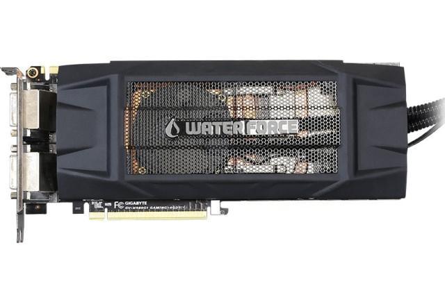 GIGABYTE представила видеокарту GeForce GTX 980 WATERFORCE