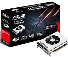 ASUS представила видеокарту Radeon R9 Nano с кожухом белого цвета