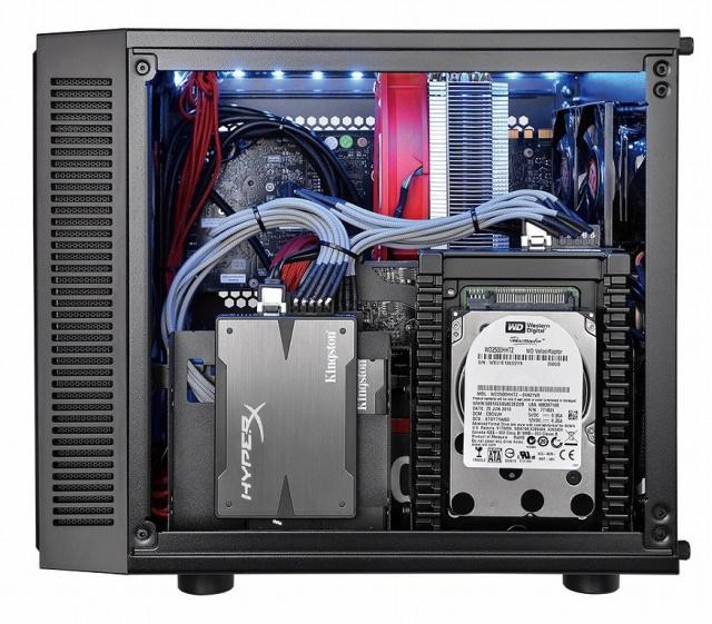 Thermaltake анонсировала mini-ITX корпус Suppressor F1