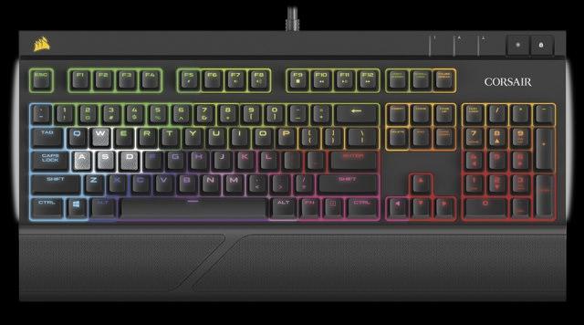 Corsair представляет Strafe RGB Silent, первую в мире механическую клавиатуру с бесшумными переключателями Cherry MX