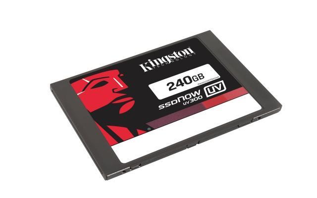 Kingston выпускает SSD UV300 на TLC чипах