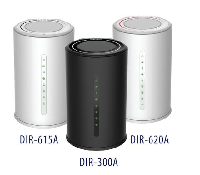 Новые беспроводные маршрутизаторы D-Link DIR-300A, DIR-615A И DIR-620A для дома и офиса