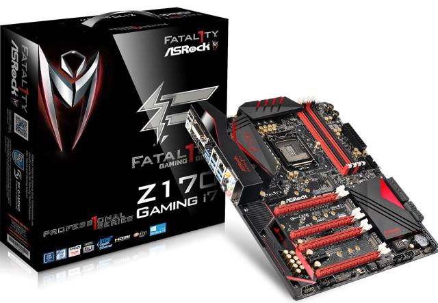 ASRock представила материнскую плату Fatal1ty Z170 Professional Gaming i7