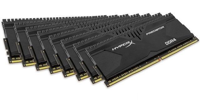 Линейки ОЗУ Savage и Predator от HyperX пополнились наборами с большим количеством памяти