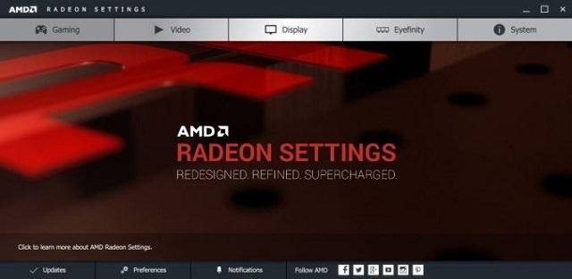 AMD выпустила Radeon Settings и первые драйверы Crimson Edition