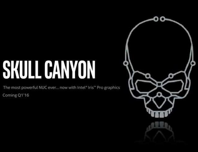 Intel готовится выпустить свой самый мощный NUC – Skull Canyon
