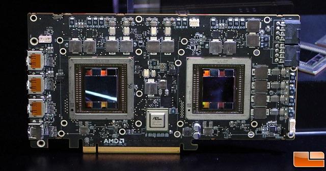 AMD готовит декабрьский запуск видеокарты с двумя чипами Fiji