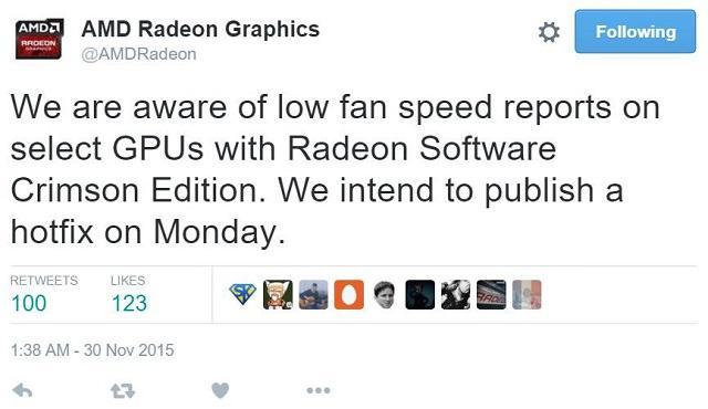 Драйверы AMD Radeon Software Crimson Edition получат срочное исправление