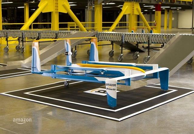 Новые дроны Amazon Prime Air – доставка из магазина не дольше, чем за полчаса