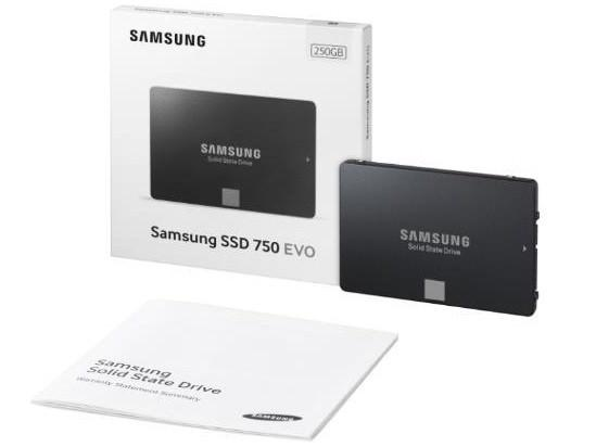 Samsung выпустила SSD 750 Series со специальными условиями гарантийного обслуживания