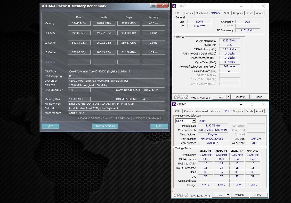 Обзор комплекта оперативной памяти HyperX Fury DDR4-2400 16 Gb (2*8 Gb)