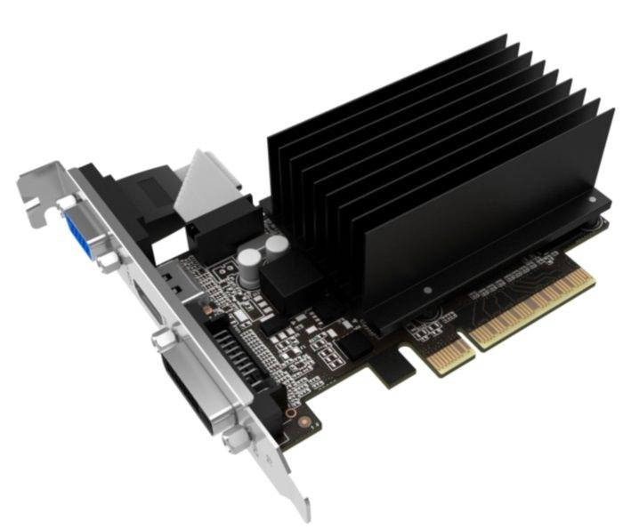 Palit выпускает видеокарты начального уровня GT 710 с пассивным охлаждением