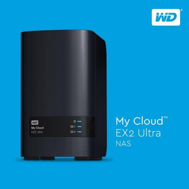 Western Digital представляет новое сетевое хранилище WD My Cloud EX2 Ultra