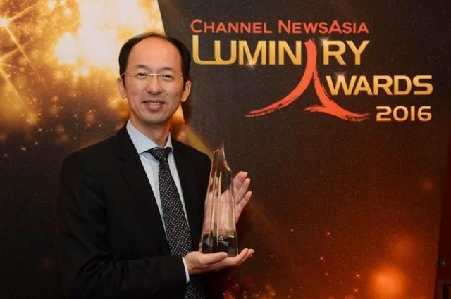 Компания ASUS получила престижную премию Luminary Award 2016 от новостного телеканала Channel NewsAsia