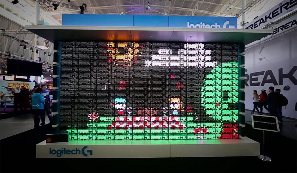 Logitech g810 wall