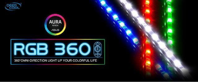 Подсветка DEEPCOOL RGB 360 для неповторимой игровой атмосферы