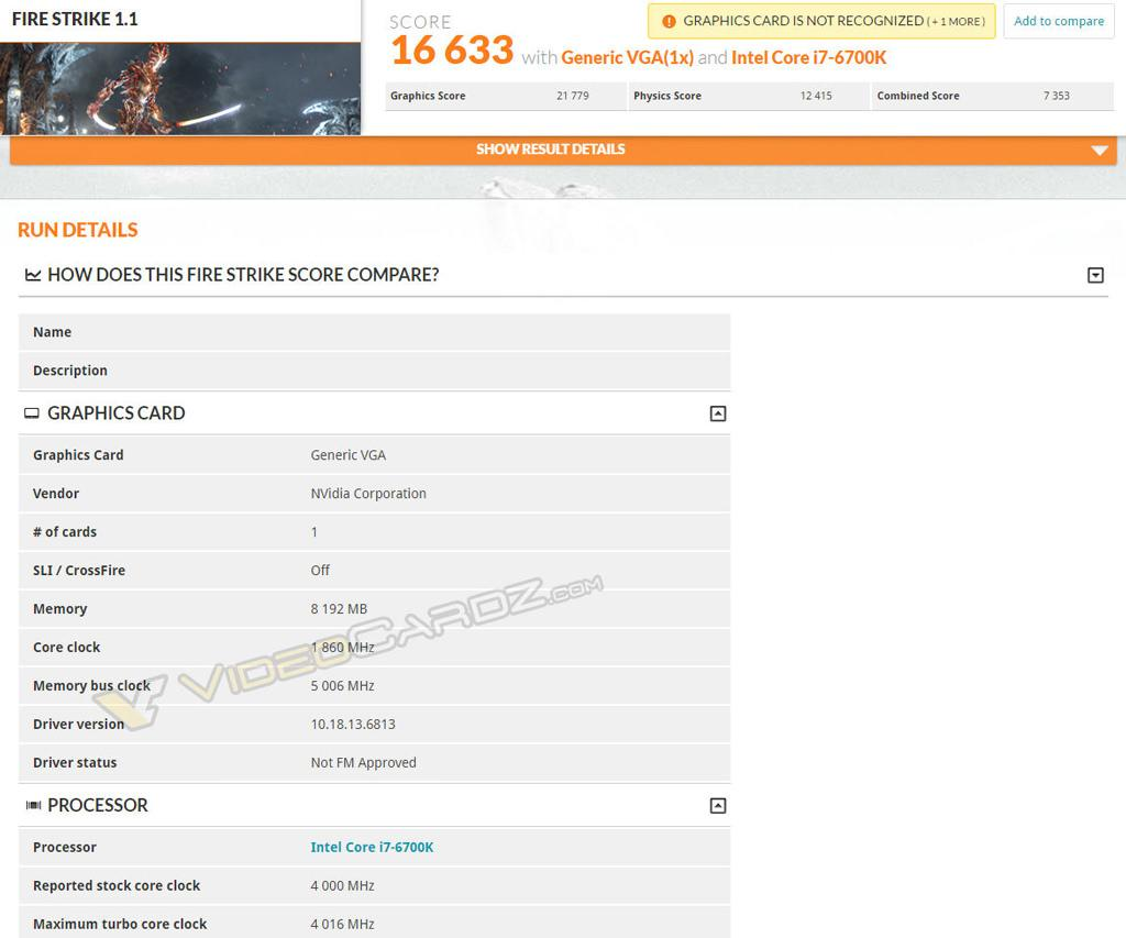 GeForce GTX 1080 3dmark 02