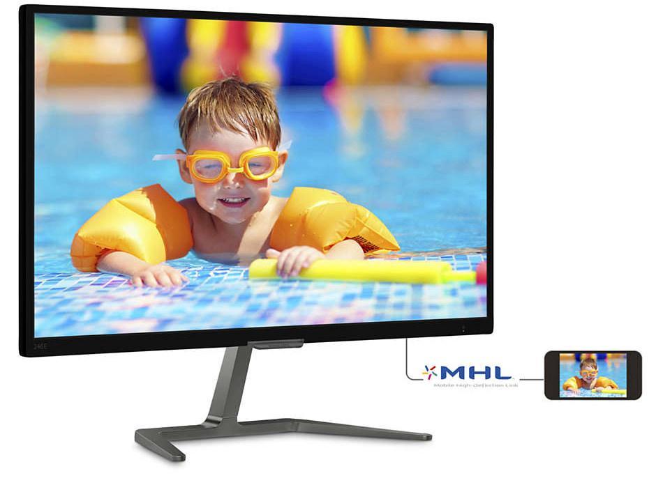 Philips выпускает «народный» Full-HD монитор с нехитрым названием 246E7QDSB