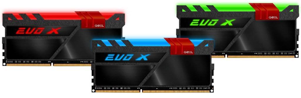 GeIL Evo-X – необычные модули памяти