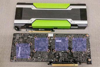 Nvidia Tesla M10 – 4-way SLI на одной плате