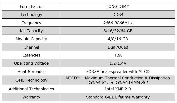 Geil DDR4 EVO Forza 02