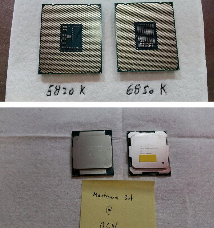 Intel Core i7-6850K: фотографии, тесты