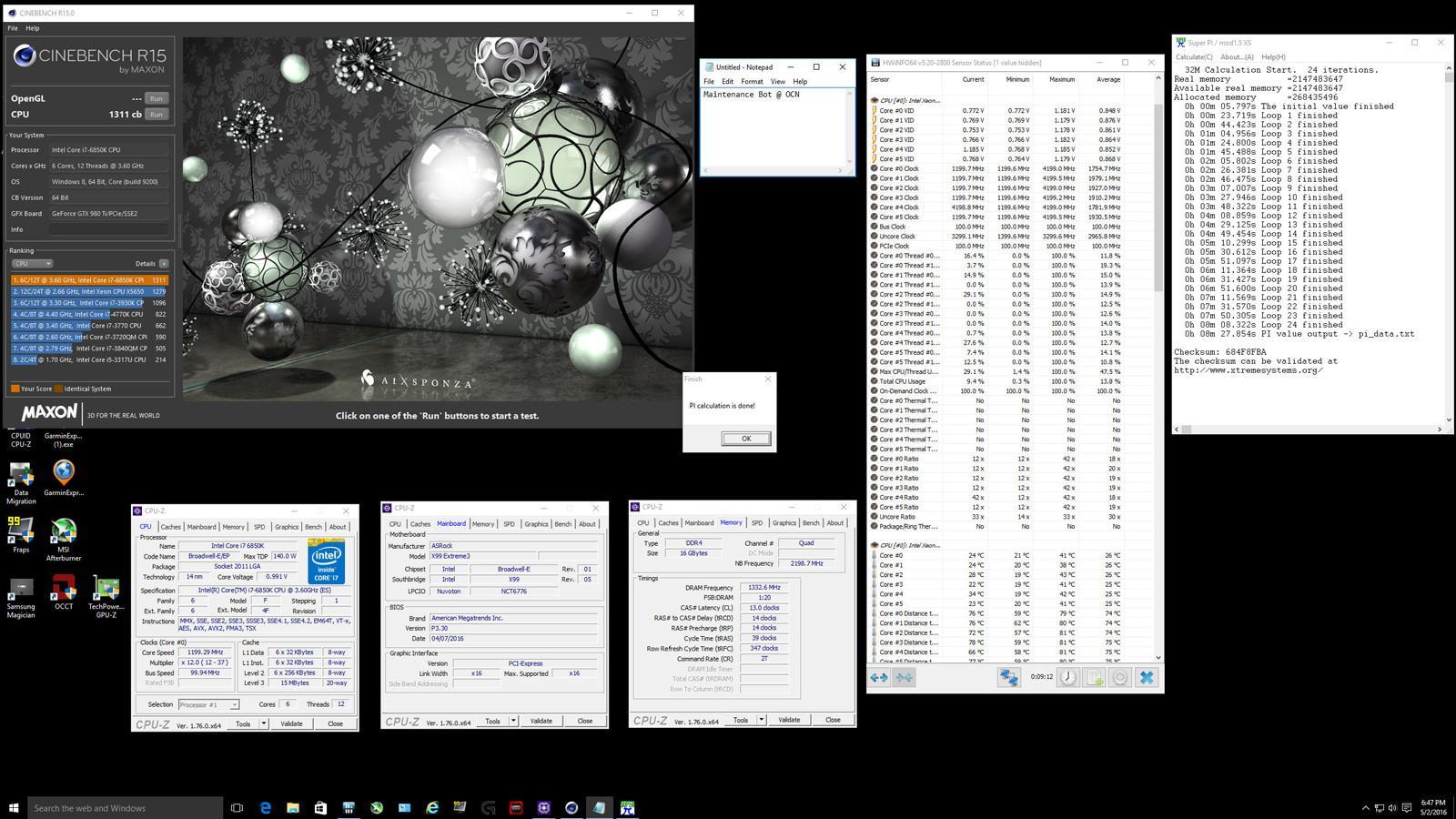 Core I7 6850K 05