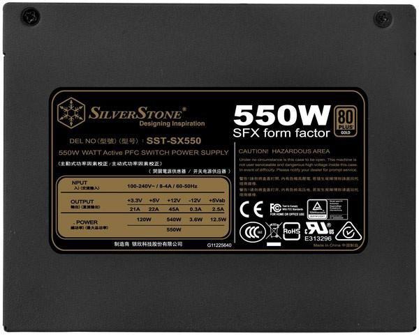 SilverStone SX550 03