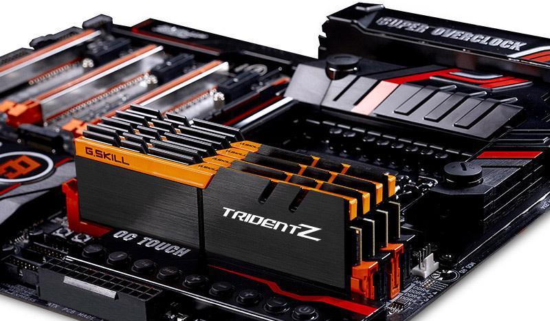 Память G.Skill Trident Z DDR4 теперь доступна в пяти разных расцветках