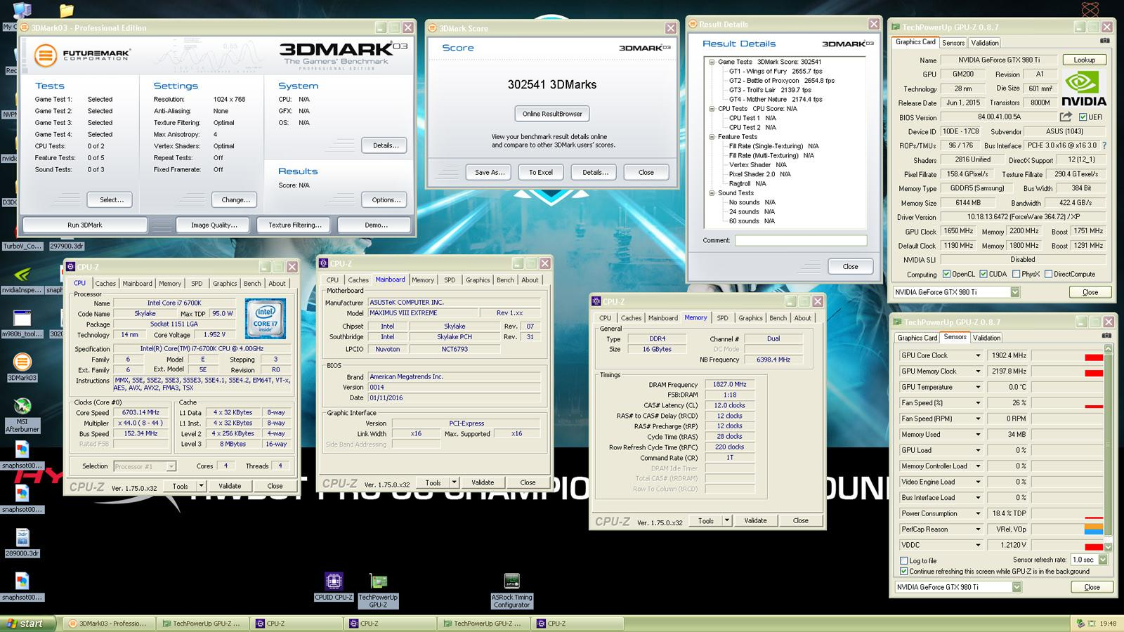 3dMark03 Record 03