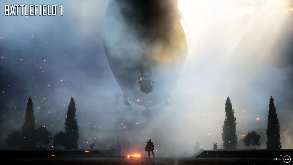 Анонсирующий трейлер новой части Battlefield