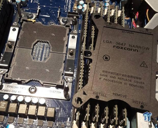 На смену сокету LGA 2011 придет LGA 3647