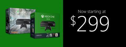Microsoft снижает цену ну Xbox One до $299